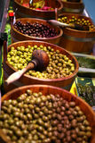 Pickled olives Royalty Free Stock Photography