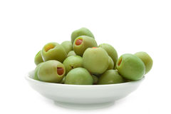 pickled olives Royalty Free Stock Images