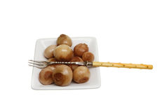 Pickled onions Royalty Free Stock Photography