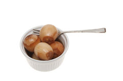 Pickled onions Stock Images