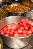 Pickled onions Stock Photography