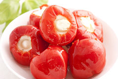Pickled Paprika Stock Photo