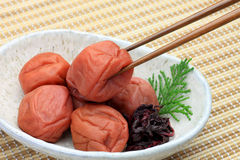Pickled plum Stock Photos