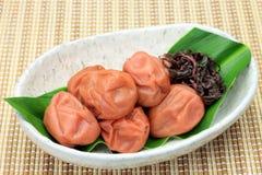 Pickled plum Stock Image