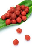 Pickled plum Stock Images
