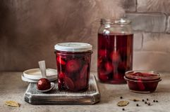 Free Pickled Plums Royalty Free Stock Photos - 133113478