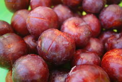 Pickled plums Royalty Free Stock Photography