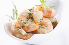 PIckled prawns Stock Photo
