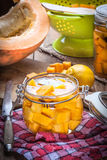 Pickled pumpkin. Stock Photography