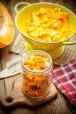 Pickled pumpkin. Stock Image