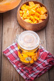 Pickled pumpkin. Royalty Free Stock Photos