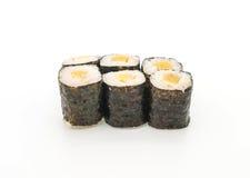 Pickled radish maki sushi- japanese food style Stock Image