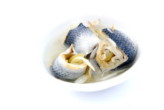 Pickled rolled fish Royalty Free Stock Photography