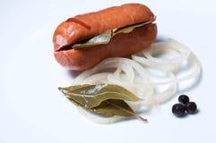 Pickled sausage , Utopenec Royalty Free Stock Image