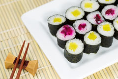 Pickled Sushi ready to Eat Stock Image