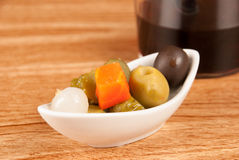 Pickled tapa Royalty Free Stock Images