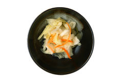 Pickled vegetable of taiwanese style Royalty Free Stock Images