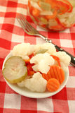 Pickled vegetables Stock Image