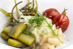 Pickled vegetables Stock Photo