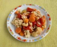 Pickled vegetables Stock Images
