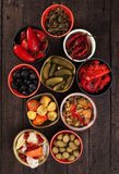 Pickled vegetables Stock Images