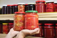 Home made preserves Royalty Free Stock Image