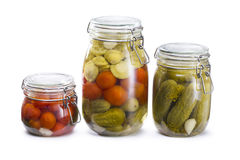 Pickled vegetables Royalty Free Stock Image