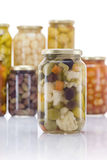 Pickled Vegetables Mix Royalty Free Stock Photography