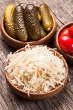 Pickled vegetables Royalty Free Stock Photography