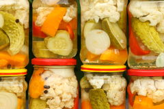 Pickles - background Royalty Free Stock Images