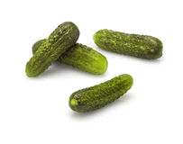 Pickles(cucumbers) Royalty Free Stock Images
