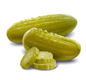Pickles cucumbers Royalty Free Stock Photography