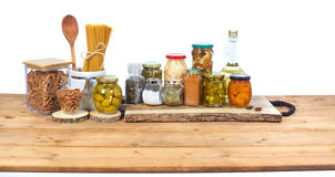 Pickles food Stock Photos