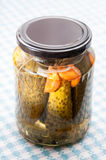 Pickles jar Stock Photos