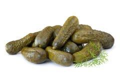 Pickles à l'aneth Photos libres de droits