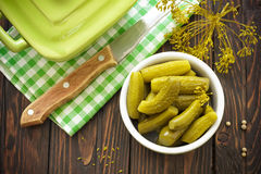 Pickles Royalty Free Stock Photos