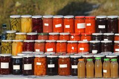 Pickling Royalty Free Stock Images