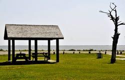 Picknick-Bereich Lizenzfreies Stockfoto