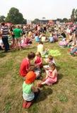 Picknick em Parkpop Imagem de Stock Royalty Free