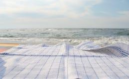 Picknick en vakantieconcepten Stock Foto