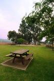 Picknick im Park lizenzfreie stockbilder