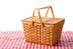 Picknick-Korb Stockbild