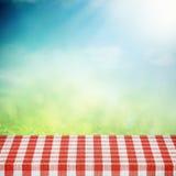 Picknick på naturen Arkivbild