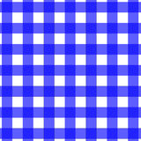 Picknick-Tischdecke-Muster-Blau Lizenzfreie Stockfotografie