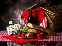 picknick två Arkivfoto