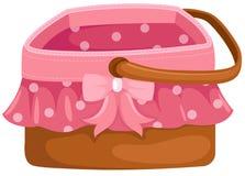 Picknickkorg Royaltyfri Bild