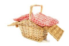 Picknickkorg Arkivfoto