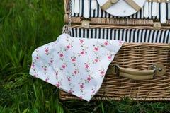 Picknickkorg Royaltyfria Foton