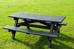 Picknicklijst Stock Fotografie