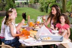 picknicksommar Royaltyfria Foton